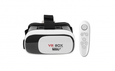 Ochelari virtuali 3D VR cu telecomanda