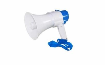 Portavoce megafon cu acumulator