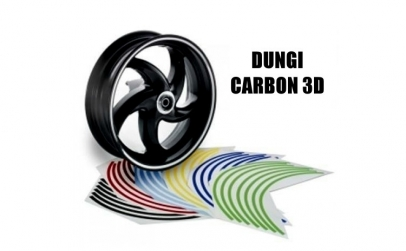 Dungi decorare jante - Carbon 3D