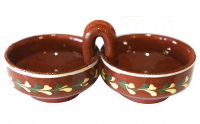 Solnita dubla ceramica lut 016367