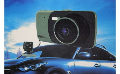 Camera auto DVR - functie rear-view