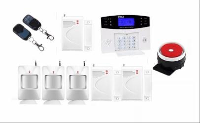 Alarma wireless GSM, senzor in 6 locatii