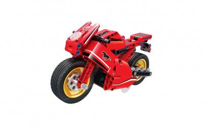 Joc de constructie tip lego Motocicleta