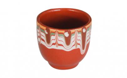 Cana ceramica lut fara toarta 40 ml