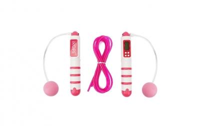 Coarda digitala roz pentru sarituri