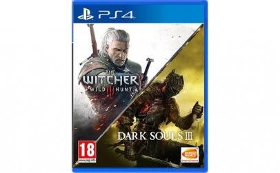 Joc The Witcher 3 Wild Hunt + Dark Souls