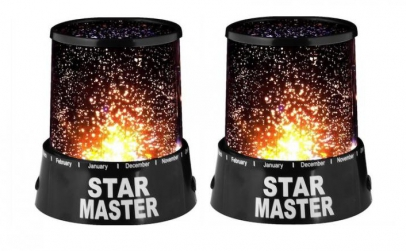 Set 2 x lampa Star Master