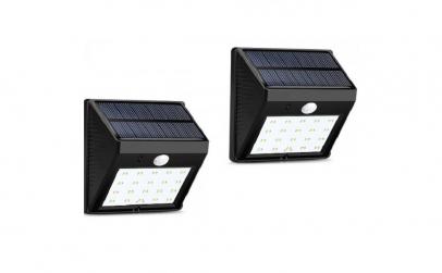 1+1 Lampa solara 30 LED-uri