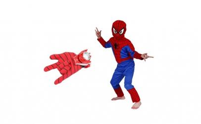 Set costum Spiderman marimea S si