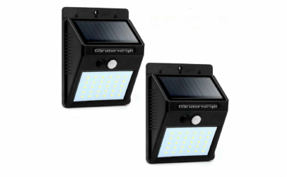 Set 2 x lampa solara