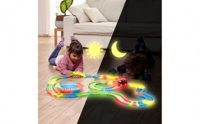 Pista luminoasa si flexibila 220 piese
