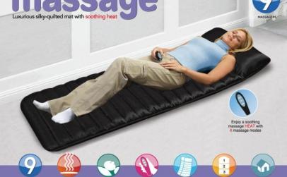 Saltea pentru masaj si incalzire