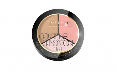 Pudra Contour sensation 3 in 1 , Eveline