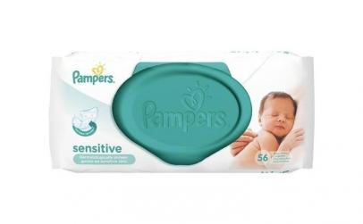 Pampers Servetele New Baby cu capac, 54