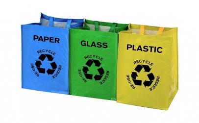 Sacose pentru reciclarea deseurilor