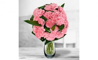 Buchet de 29 garoafe roz