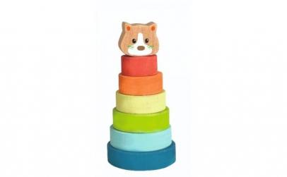 Piramida tip Montessori   Pisica