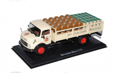 Macheta auto MERCEDES-BENZ L710 1:43