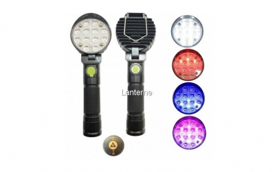 Lampa de lucru rotunda - 12 LED