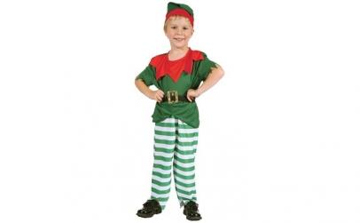 Costum elf copii - marime 92-104