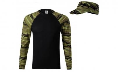 Bluza camuflaj verde + sapca