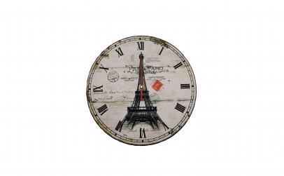 Ceas de perete din lemn, Paris
