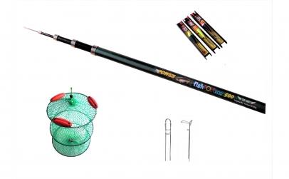 Set pescuit cu varga 500 cm