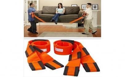 Set 2 x Curele pentru mutat mobilierul