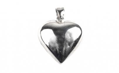 Pandantiv Argint 925, Forma de Inima +