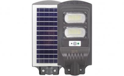 Proiector cu panou solar - 60W (2 LED)