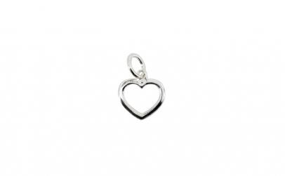 Pandantiv Argint 925 Inima Contur +