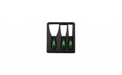 Spaclu inox flexibil cu maner ergonomic