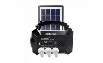 Kit iluminare LED cu incarcare solara
