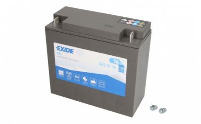 Baterie moto Gel EXIDE 12V 16Ah 100A R+