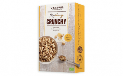 Cereale Crunchy cu miere 375g Verival