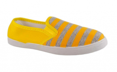 Espadrile Stripes - Full Yellow