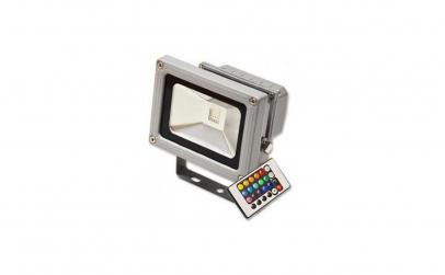 Proiector LED 10W, clasic RGB