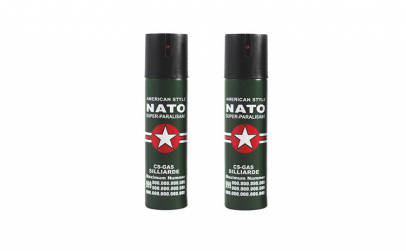 Set 2 sprayuri paralizante, NATO, 60 ml