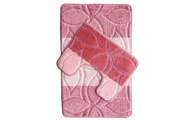 Set covorase roz pentru baie
