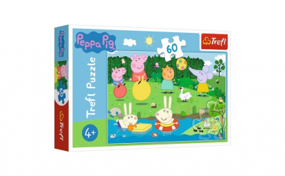 PUZZLE TREFL 60 PEPPA PIG DISTRACTIE IN