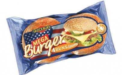 Chifla jumbo pentru hamburger 300g