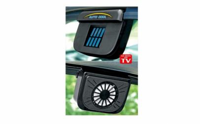 Ventilator auto cu alimentare solara