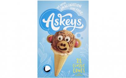 Cornete Inghetata 21 buc Askey's