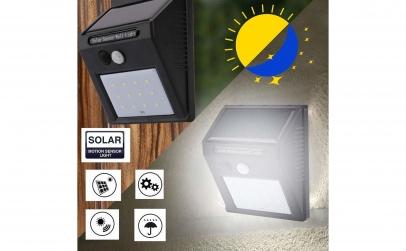 Lampa 12 LED incarcare solara
