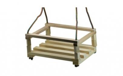 Leagan pentru copii, din lemn AC1008