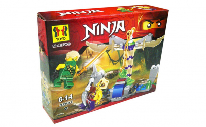 Joc creativ lego Ninja 4