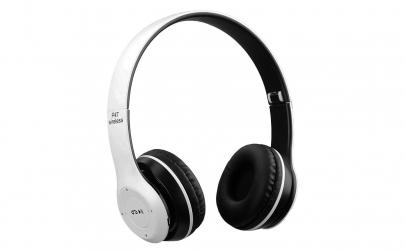 Casti Wireless cu microfon P47 Alb