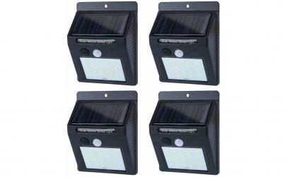 Lampa solara cu 20 LED-uri
