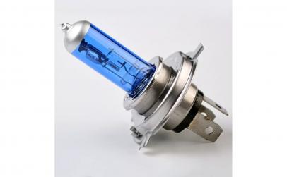 Set 2 becuri H4 2 faze lumina alba +130%