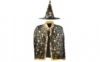 Costum vrajitor pentru copii, palarie si